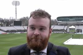 PAUL STIRLING AFTER DAY ONE AT LORD'S VS NORTHANTS