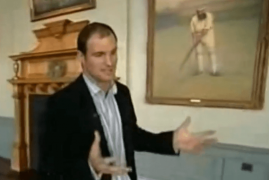 FROM THE ARCHIVES - ANDREW STRAUSS - WALK TO THE MIDDLE
