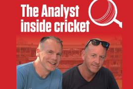 Angus Fraser joins the launch of The Analyst Inside Cricket Club