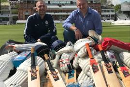 VIKING CRICKET DELIVERS KIT TO MIDDLESEX DISABILITY AT LORD'S