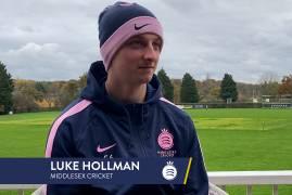 LUKE HOLLMAN LOOKS BACK ON BREAKTHROUGH SEASON