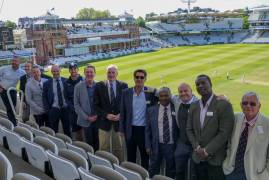 MIDDLESEX PLAYERS ASSOCIATION RAISES FUNDS FOR RUTH STRAUSS FOUNDATION