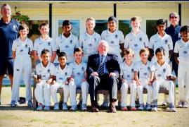 MIDDLESEX UNDER 11'S SHINE AT ARDINGLY FESTIVAL