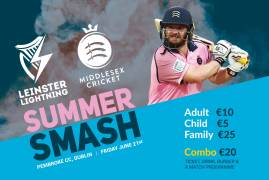 TICKET DETAILS ANNOUNCED FOR LEINSTER v MIDDLESEX SUMMER SMASH