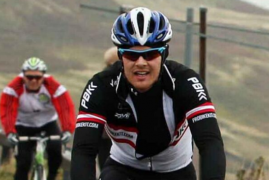 JAMES HARRIS TACKLES THE GRUELLING 'BIG BIKE RIDE' - AND SOME!