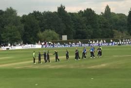 Middlesex v Kent Spitfires: Match Report