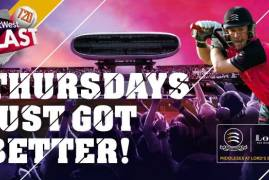 Thursday's T20 Blast is almost a sell out!
