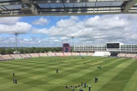Hampshire v Middlesex: Day 2 Tea Update