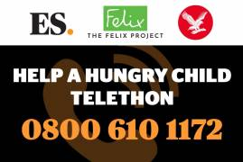 HELP A HUNGRY CHILD TELETHON NOW LIVE - in support of The Felix Project