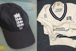 New items on Middlesex CCC charity EBAY site