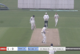 LIVE MATCH STREAM SERVICE NOW AVAILABLE FOR MIDDLESEX MATCHES
