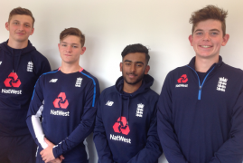 FOUR MIDDLESEX YOUNGSTERS NAMED IN ENGLAND YOUNG LIONS SQUAD