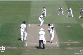 NORTHANTS V MIDDLESEX - DAY THREE MATCH ACTION