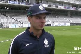 MAX HOLDEN LOOKS BACK ON OUR TOUR MATCH VS THE AUSTRALIANS