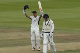 MAX HOLDEN ON HITTING HIS MAIDEN HUNDRED FOR MIDDLESEX