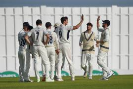 MIDDLESEX v GLAMORGAN | DAY THREE MATCH ACTION
