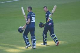 MIDDLESEX VS GLOUCESTERSHIRE - MATCH ACTION