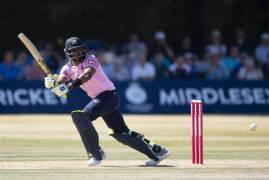 IMAGES OF MIDDLESEX BATTING VS GLOUCESTERSHIRE IN VITALITY BLAST