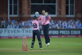 BOWLING GALLERY VS HAMPSHIRE IN THE VITALITY BLAST