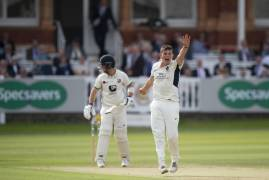 ETHAN BAMBER REFLECTS ON A HARD FOUGHT SECOND DAY VS KENT AT LORD'S