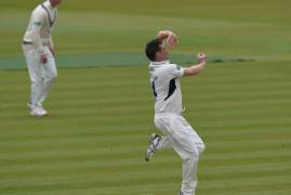 MIDDLESEX v LANCASHIRE - DAY THREE MATCH ACTION