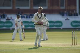 RAYNER REACHES 300 FIRST CLASS WICKETS | MIDDLESEX v LEICESTERSHIRE | DAY TWO INTERVIEW