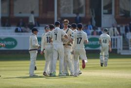 MIDDLESEX VS LEICESTERSHIRE - DAY FOUR MATCH ACTION
