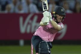 IMAGES OF MIDDLESEX BATTING VS SUSSEX IN THE VITALITY BLAST