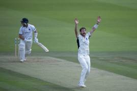 JAMES HARRIS CLOSE OF PLAY INTERVIEW - DAY TWO VS WARKS AT LORD'S