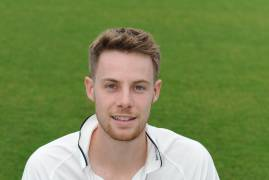 ROBBIE WHITE REFLECTS ON THE EVENTS OF DAY TWO AGAINST NORTHANTS