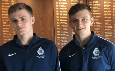 CULLEN & HOLLMAN INTERVIEW AT LORD'S AFTER ENGLAND UNDER 19 CALL-UPS
