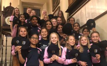 MIDDLESEX WOMEN CAP PRESENTATION AT LORD'S