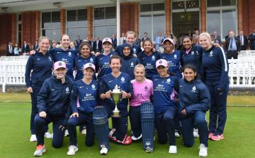 MIDDLESEX AND SURREY WOMEN TO RESUME LONDON CUP RIVALRY THIS MONTH