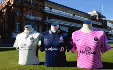 MIDDLESEX ANNOUNCES NEW SHIRT SPONSORSHIP DEAL AND LAUNCHES NEW KITS FOR 2019