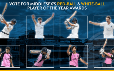 VOTE FOR MIDDLESEX'S 2020 RED-BALL & WHITE-BALL PLAYER OF THE YEAR AWARDS