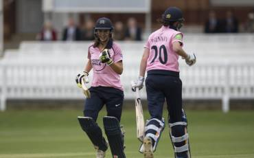 IMAGES FROM MIDDLESEX WOMEN VS MCC AT LORD'S